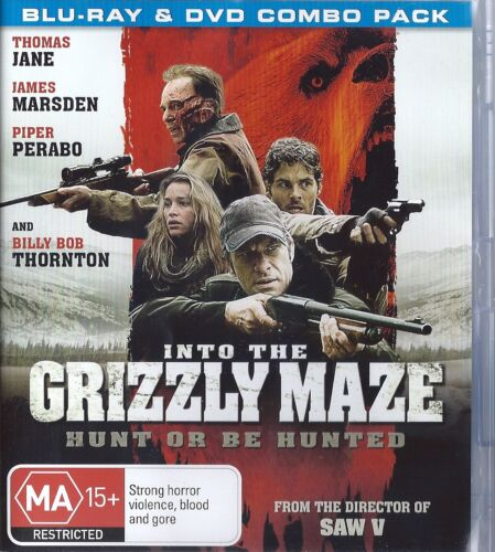 1 of 1 - Into The Grizzly Maze (Blu-ray, 2015)
