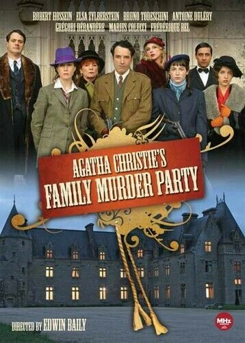 Agatha Christie's Family Murder Party (2 Disc) DVD NEW