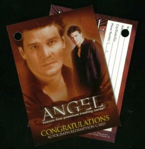 ANGEL-SEASON-5-Inkworks-2004-VOIDED-AUTOGRAPH-REDEMPTION-CARD-AR1-From-Packs