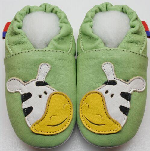 Minishoezoo FR Chausson bébé chaussons bébé enfant chaussures cuir semelle