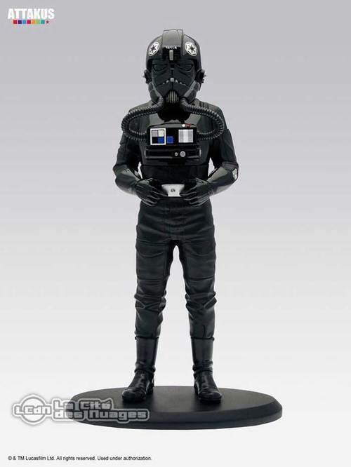 STAR WARS Elite Collection 1/10th TIE Fighter Pilot Statue 18cm ATTAKUS
