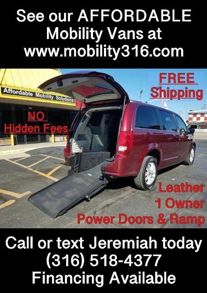 2020 Dodge Grand Caravan Wheelchair Mobility Handicap