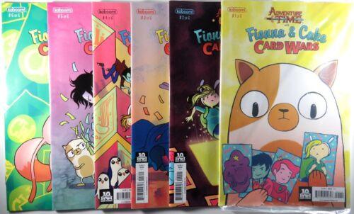 Card Adventure Time FIONNA /& CAKE CARD WARS #1 2 3 4 5 6 Comic Set 1st print