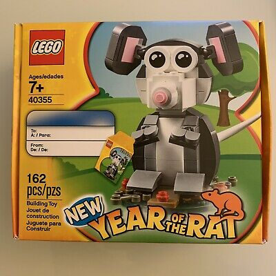 40355 Chinese Lunar New Year Exclusive Set New//Sealed LEGO Year of the Rat