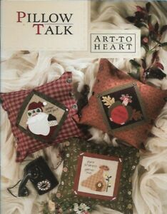 Pillow-Talk-Art-to-Heart-Easy-Piecing-amp-Fusable-Applique-Holiday-Christmas-508B