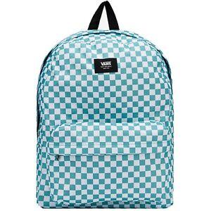Vans Unisex Old Skool III Adjustable Strap Backpack - Green Check