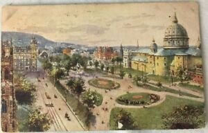 Antique-Postcard-Raphael-Tuck-Sons-Oilette-Conway-Montreal-Dominion-1909-Posted