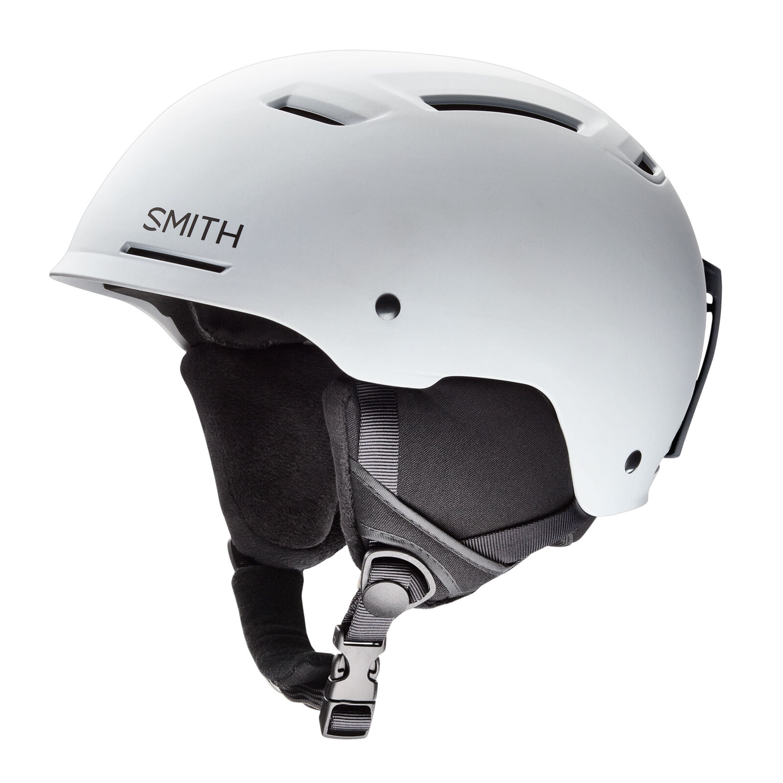 Smith Ski Helmet Snowboard Helmet Pivot White Plain Colour Size Adjustable