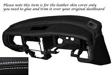 Punto Blanco Dash Dashboard Leather Piel tapa se ajusta Mitsubishi L200 K74 98-06