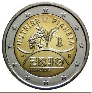 ITALIE 2 Euro Commemorative Exposition Universelle 2015 à Milan UNC