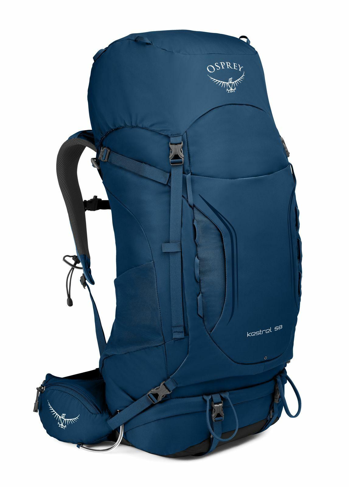 Zaino Osprey Kestrel 58 SM Loch Blu