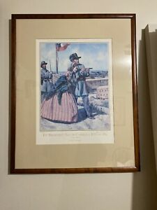 Don-Troiani-1st-Regiment-S-Carolina-Rifle-1861-Civil-War-Print-Signed-ed-Framed