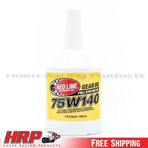 Image is loading Red-Line-75W140-GL-5-Gear-Oil-1-