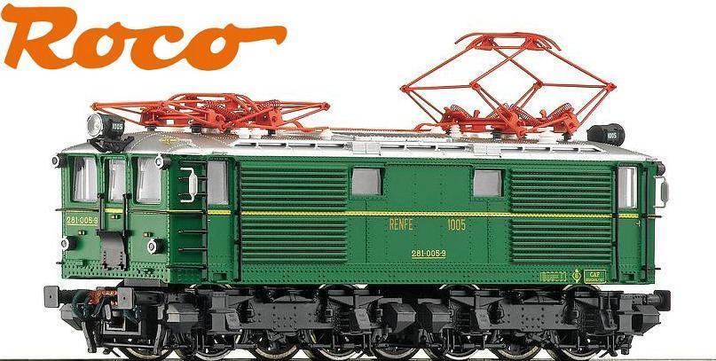Roco H0 68680 Locomotora Eléctrica Serie 281-005-9 Der Renfe   Para