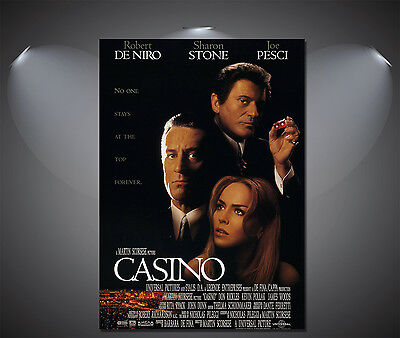 Casino Vintage Movie Poster - A1, A2, A3, A4 Sizes