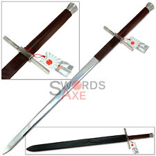 Witcher Hunter Geralts Bastard Steel Sword Replica (440 Stainless) Full Sized
