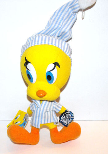 RARE Looney Tunes TWEETY with PYAMA plush fig 1995 MINT LAST ONE available