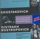 Eugene Ormandy David Oistrakh Shostakovich Violin and Cello Concertos CD
