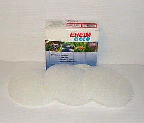 EHEIM 2616315 ECCO FILTER WOOL/ FINE PADS. Pack of 3 2232, 2234, 2236 aquarium