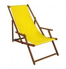 Sdraio In Legno Ikea.Ikea Mysingso Sedia A Sdraio Giallo Da Spiaggia Lettino Prendisole