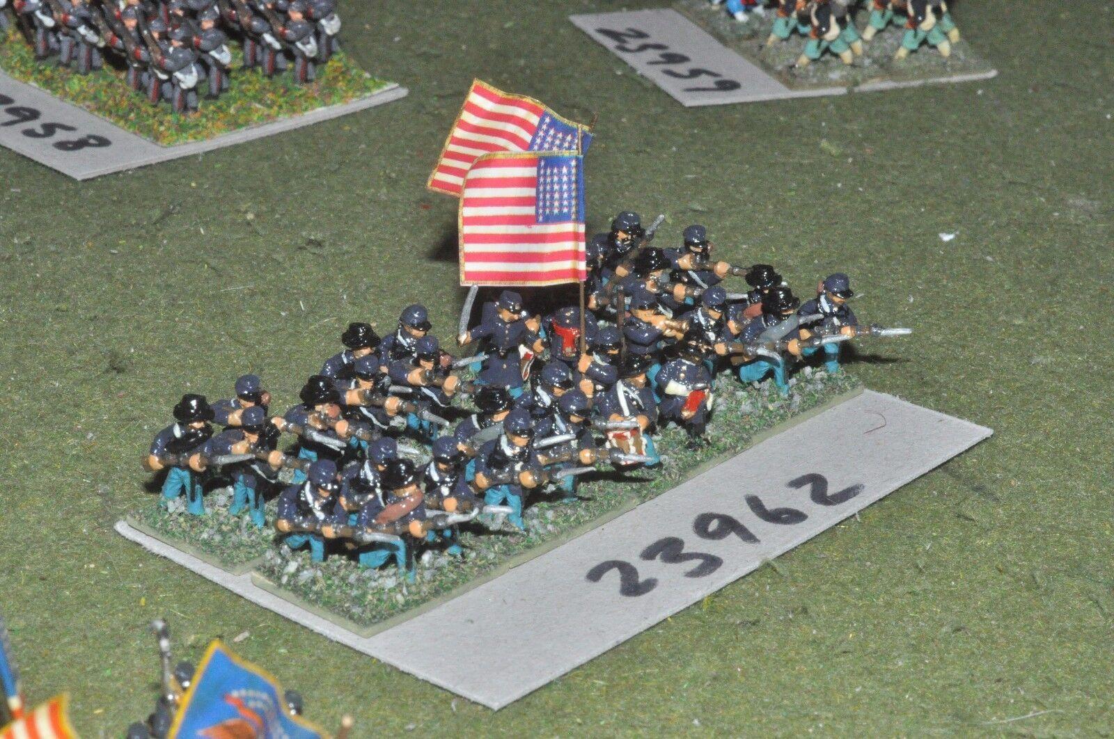 15mm ACW   union - regiment 32 figures - inf (23962)