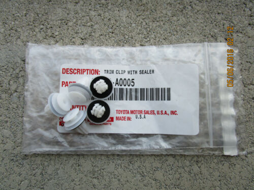 07-14 LEXUS LS460 BASE SPORT SET OF 5 INTERIOR DOOR PANEL TRIM CLIP NEW A0005