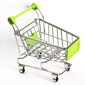 Supermarket-Trolley-Miniature-Shopping-Child-039-s-Play-Toy-Gift-BRAND-NEW