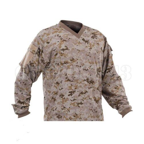 New Valken Paintball V-Tac Sierra Playing Jersey - Desert Tan Marpat - XL