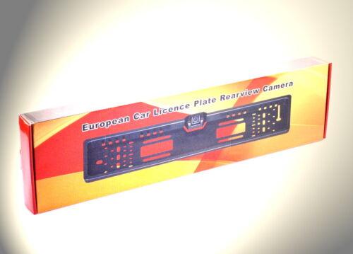 PORTATARGA con Telecamera retromarcia integrata adatto per RENAULT