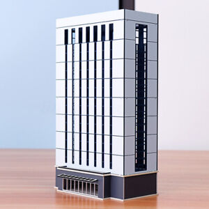 N-Scale1-150-1-160-Modern-Enterprise-Government-Office-Skyscraper-Building