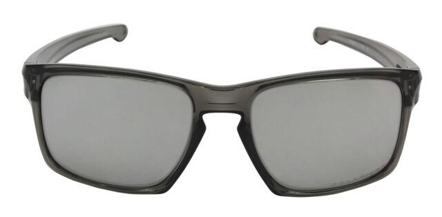 aee1e4e4c6e Oakley Sliver Polarized Sunglasses Gray Smoke chrome Iridium 009262 ...