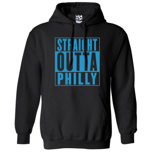 Straight Outta Philly HOODIE Rep Philadelphia Movie Parody Hooded Sweatshirt