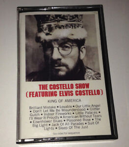 THE-COSTELLO-SHOW-Feat-Elvis-Costello-King-Of-America-Cassette-Tape-EX