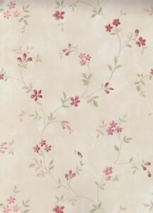 estilo-de-cocina-2-Papel-pintado-vinilo-Floral-Flores-Beige-Rojo-hm26312-7-35