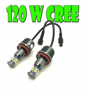 H8-For-BMW-12-LED-ANGEL-EYE-UPGRADE-120W-CREE-For-BMW-X6-E71-2007-14