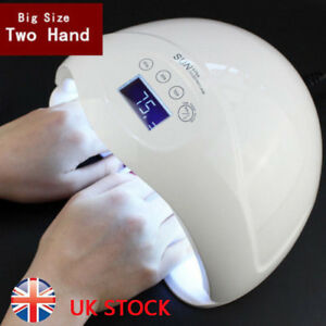 SUN5 PLUS 48W UV LED Gel Nail Lamp Nail Dryer Manicure ...