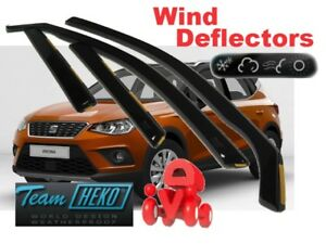 SEAT-ARONA-5D-2017-Wind-deflectors-4-pc-HEKO-28246