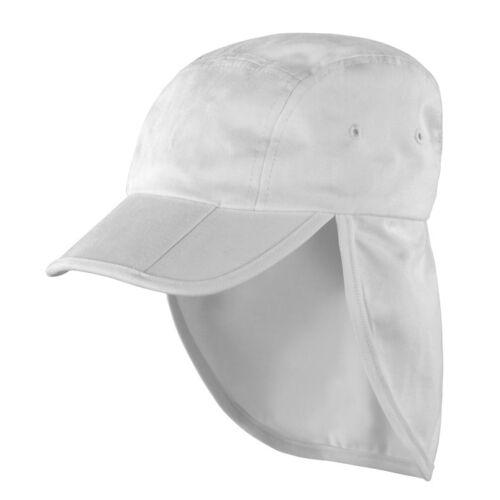 Kids Folding Legionnaire Hat Personalised or Plain Children School Nursery Cap