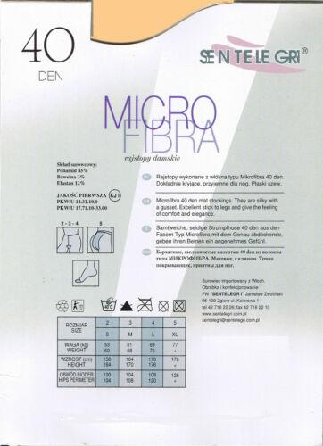 SENTELEGRI 40 DEN MICROFIBRE TIGHTS COLOUR BEIGE