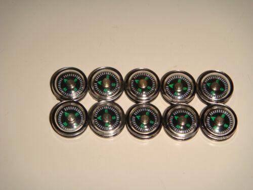 Super mini compass 12mm x 10pcs