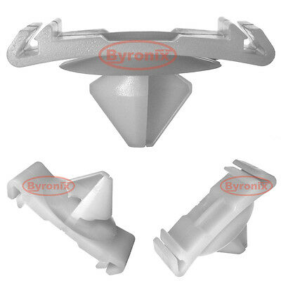Citroen C5 x7 Moulure Porte Bordure Bande Clips extérieur PLASTIQUE Lower Bottom X 10