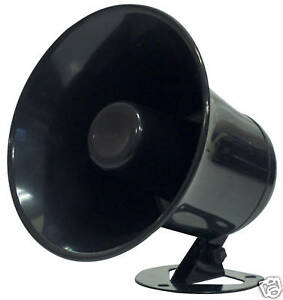 """All Weather Outdoor 5"""" inch Boat CB Ham Radio PA Horn Audio Extension Speaker"""