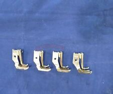 4 Sets Of New Welt Piping Foot For Juki Dnu 1541 Industrial Walking Foot