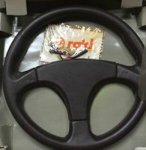 sport leather steering wheel made by raid italy design for