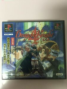 UsedGame-PS1-PS-PlayStation-1-Dragon-Knight-4-from-Japan