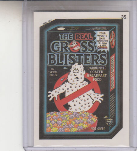 2013 TOPPS 75TH ANNIVERSARY GOLD STAMPED 1991 WACKY PACKAGES #35 GROSSBUSTERS