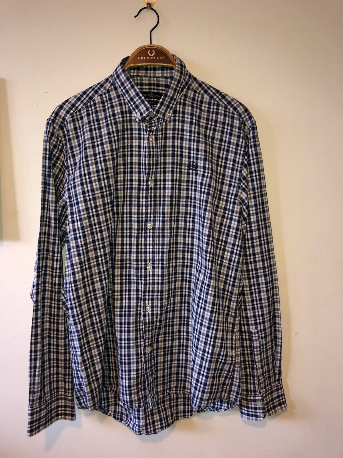 Mens Large Henri Lloyd Shirt Regular Fit Casuals Shirt