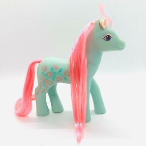 Vintage My Little Pony G1 1988 Sweetheart Sister MLP Fancy Flower Pink Hair RARE
