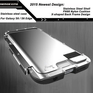 best website 9789c bf817 Details about Armor King Stainless Steel Iron man 360°Flip Case For Samsung  Galaxy S10+ S10 S9