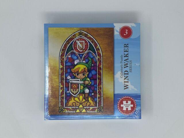 OFFICIAL - Legend of Zelda Wind Waker 550-Piece Jigsaw Puzzle (NEW)